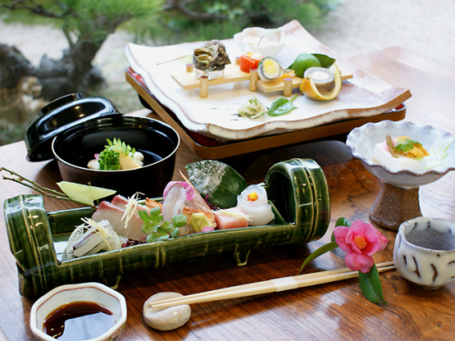 【ご馳走倶楽部★萩の美味しいおもてなし】料理長おすすめの日本海の旬の幸。世界遺産の町並み・史跡巡り♪■HP5大特典付■
